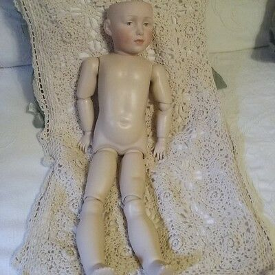 Kammer and Reinhardt Doll, Elise #109 Bisque Head, 22 inches... Reproduction?