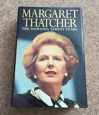 Margaret Thatcher Signed The Downing Street Years Book