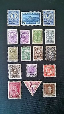 Collection Of Mint And Used Vintage Stamps From Austria & Bosnia.