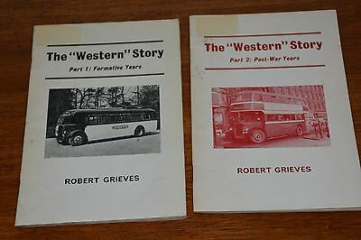 The Western Bus Story In Pictures Part 1 And 2