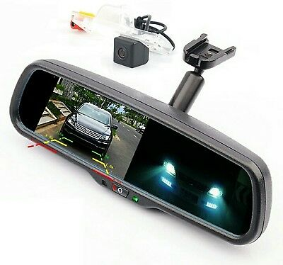Holden Cruze 2009 - 2014 Jg & Jh Reverse Camera Kit With Auto Dimming Mirror