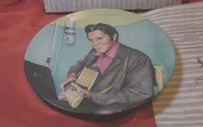 """Elvis Presley Looking At A Legend Series #6 """"the Studio Session""""  Coa Never Used"""