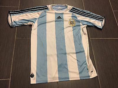 Argentina Messi Jersey Youth XL Adidas
