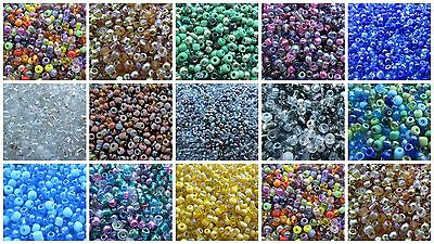2000 8/0 Seed Beads - Mix Mixes - Choice of Colours - UK Seller