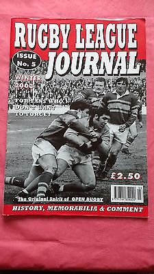 Rugby League Journal Magazine No 5 Winter 2003