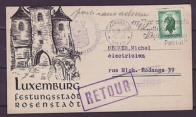 A533 Luxembourg Postcard