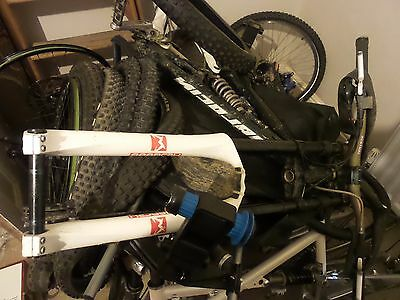 """Marzocchi 888 Rc2X Triple Clamp Forks - 26"""" Wheel - 200Mm Travel - Vgc"""