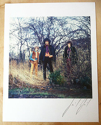 JIMI HENDRIX EXPERIENCE SIGNED GICLEE PRINT Brand New Mint Condition ARCHIVAL