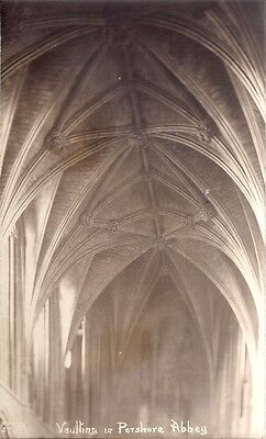 Rare Old  Postcard - Vaulting In Pershore Abbey - Pershore Worcestershire C.1926