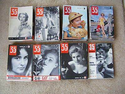 All 89 Issues Of  '35mm Photography' Magazine May 1958-Sept 1965.