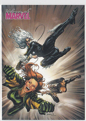 Collector Card; Women of MARVEL Series two.. Promo P1