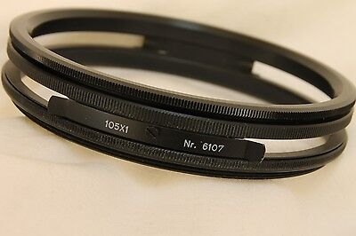 HELIOPAN 105x1  large filter holder  # 6107  for  105mm drop in filters