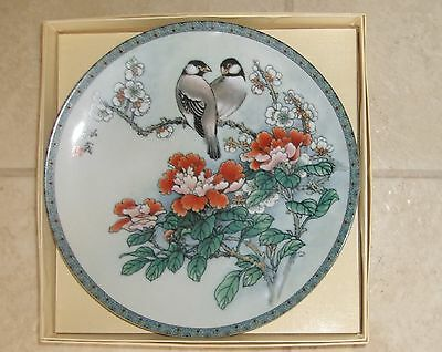 Imperial Jingdezhen Porcelain Plate - Blessings Chinese Garden – Gift Of Purity