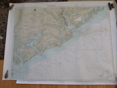 NOAA Nautical Chart of Charleston Harbor and Approaches