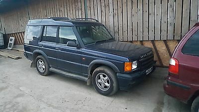 Land Rover Discovery 2 V8 Complete Front Axle Including Differential