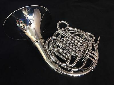 Holton H479 (379 w/screw bell) Kruspe Wrap Double French Horn w/New Case