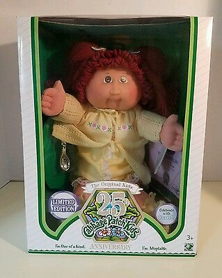 RARE PROTOTYPE Cabbage Patch Kids 25th Anniversary HAND SIGNED XAVIER NEW