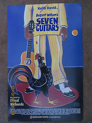 Poster Seven Guitars Excellent condition