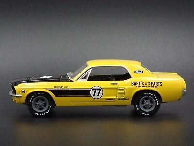 1967 Ford Mustang Coupe Rare 1/64 Collectible Diorama Diecast Model Car