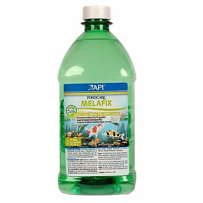 API Pond Care Melafix 1.89L Natural Treatment Bacterial Pond Fish Care Safe