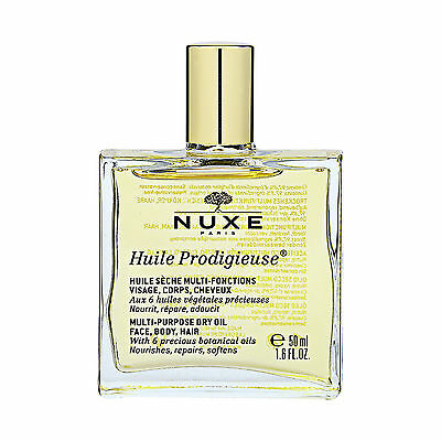 NUXE Huile Prodigieuse Multi-Usage Dry Oil 50ml Moisturizing Face Body Hair#1395