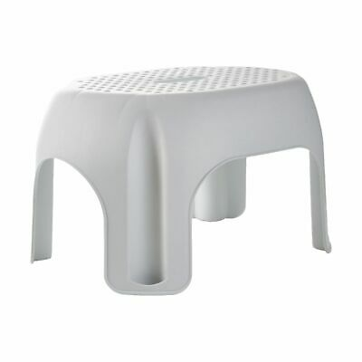 Single Step Stool 150kg White