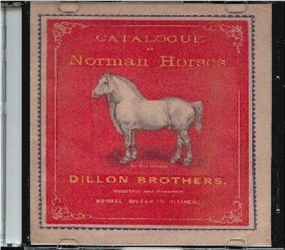 1885 Norman Horses Catalog # 2 on CD - Dillon Brothers
