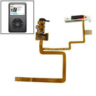 Headphone Audio Jack Flex Hold Switch Button+Tools for iPod 6th Gen Classic 80GB
