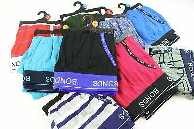 5-20 pairs x MENS BONDS UNDERWEAR Guyfront Trunks Briefs Boxer Shorts Size S-XXL