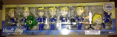 Fallout Vault Boy Vault 111 Bobbleheads Series 3 - 7 Pack Collection Sealed New