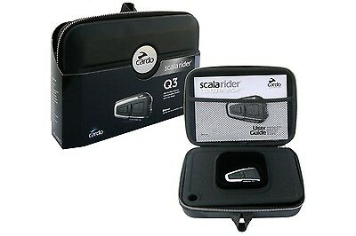 Scala Rider Q3 Single Motorcycle Bluetooth Intercom Headset 4-Way Toggling Comms