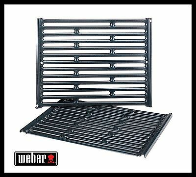 Weber Gas Grill Cooking Grates Porcelain Fits Spirit 200 500 Genesis Silver A