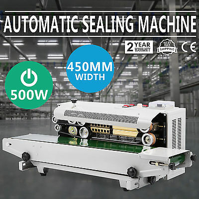 Continuous Auto Sealing Machine Band Sealer Bag Film Sealer Machine Pvc Membrane