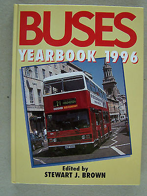 """buses Year Book 1996."" Coaches. Road Transport. Book."