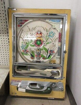 Nishijin Pinball Machine Super DX, Looks Complete Lights Up, Untested As Is