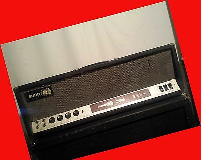 SUNN 2000s Tube Super Amp Amplifier Head Bass Guitar Electric Hendrix Sound Led