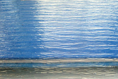 WATER SHEETS realistic clear textured plastic 27x22cm HO 1/87 1/48 1/35 Scale