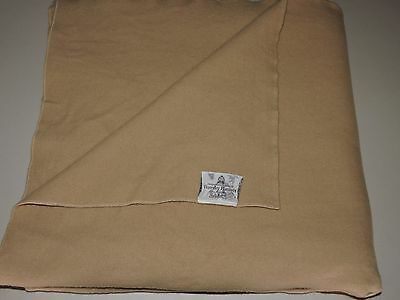 Large Queen Size WAVERLEY PURE MERINO WOOL Blanket Thick Heavy Laundered VGC