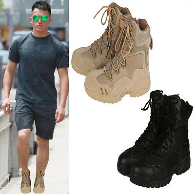 Military Desert Tactical Boots Tenis Combat Boots Outdoor Mens Leather Army Boot
