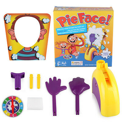 Pie Face Game Fun Filled Family Game of Suspense Toy Party Birthday Gift Boxed