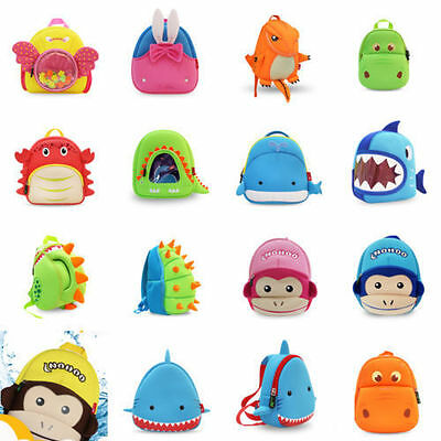Kids Waterproof Dinosaur Toddler Backpacks Cartoon Animal Boy Girl Schoolbags