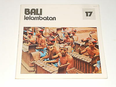 Bali - Lelambatan - LP - Galloway Records GB 600536 - Musique Du Monde 17