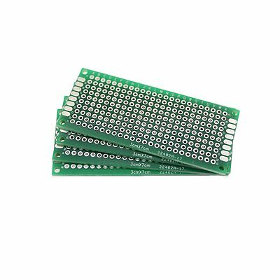 20Pcs Double-Side Prototype PCB Panel Universal Breadboard 4 Different Size