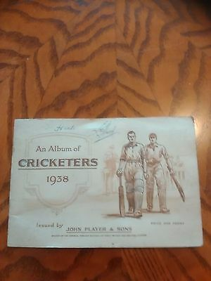 Vintage Players Cricketers cigarette cards 1938 full set