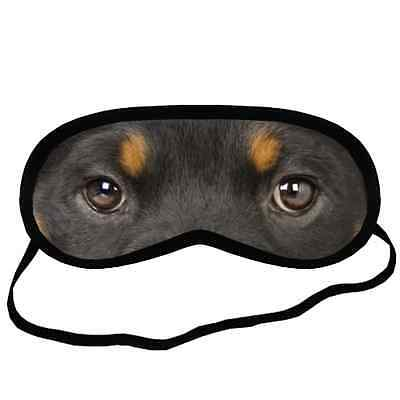 ROTT ROTTWEILER EYES Dog Puppy Lovers Comfort Small-Med Size SLEEP MASK Gift