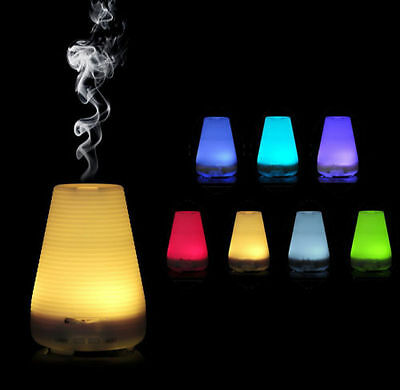 Essential Oil LED Aroma Diffuser Ultrasonic Humidifier Air Aromatherapy-100ml VP