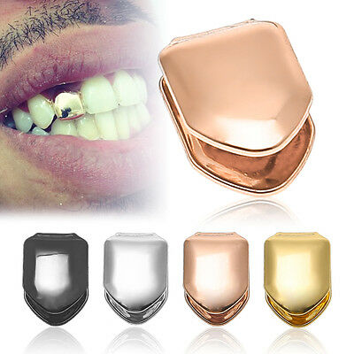 Tendy Rock Hip Hop Teeth Single Tooth Solid Grillz Grill Caps Mold Kit New