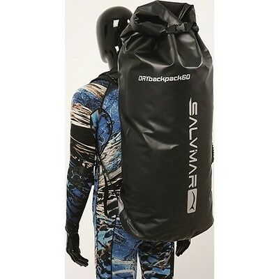 Salvimar Dry Backpack 60 Liter Spearfishing Freediving Scuba Diving 400204