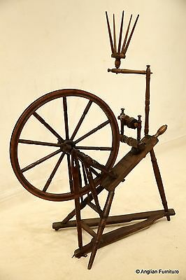 Victorian Spinning Wheel  FREE Nationwide Delivery