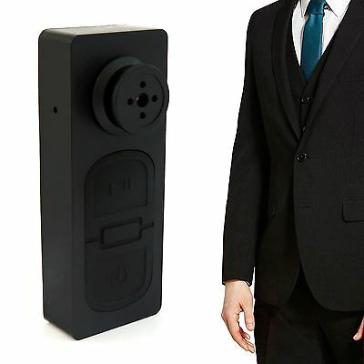 Mini Button Pinhole Spy Cam Video Spy Hidden Security Camera DVR Recorder